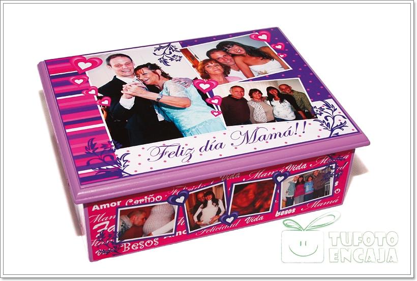 Tu foto en caja cajas personalizadas con fotos para for Cajas personalizadas con fotos