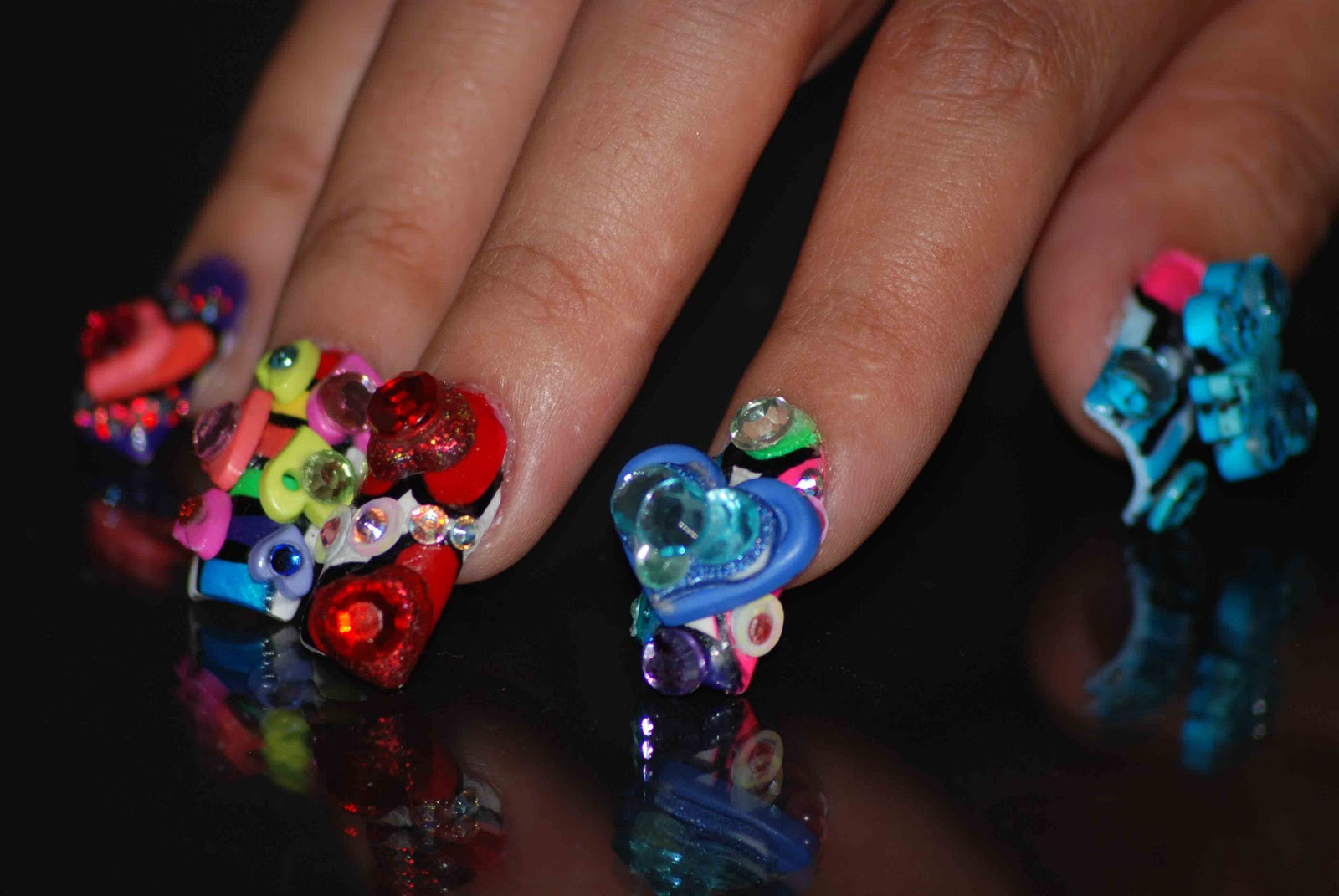 Nail Art Ideas 4d Bellagemanails