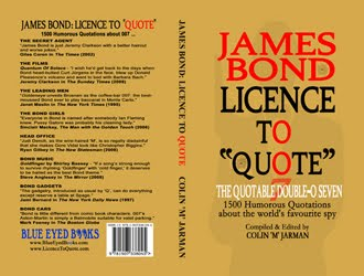 JAMES BOND: LICENCE TO QUOTE