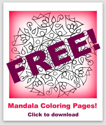 Free Mandala Coloring Pages For You