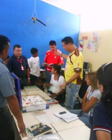 Lic. César Pérez Coordinador de Liceos Bolivarianos