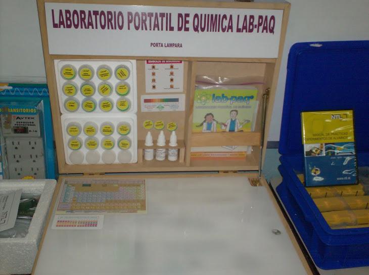 Prototipo Laboratorio Portátil de Química
