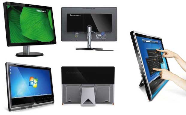 Monitores Lenovo full HD multitouch