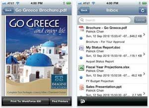 PrintJinni app de impressão para iPhone