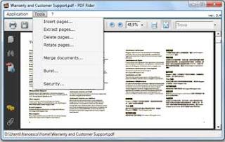 PDF Rider gerenciador de PDF
