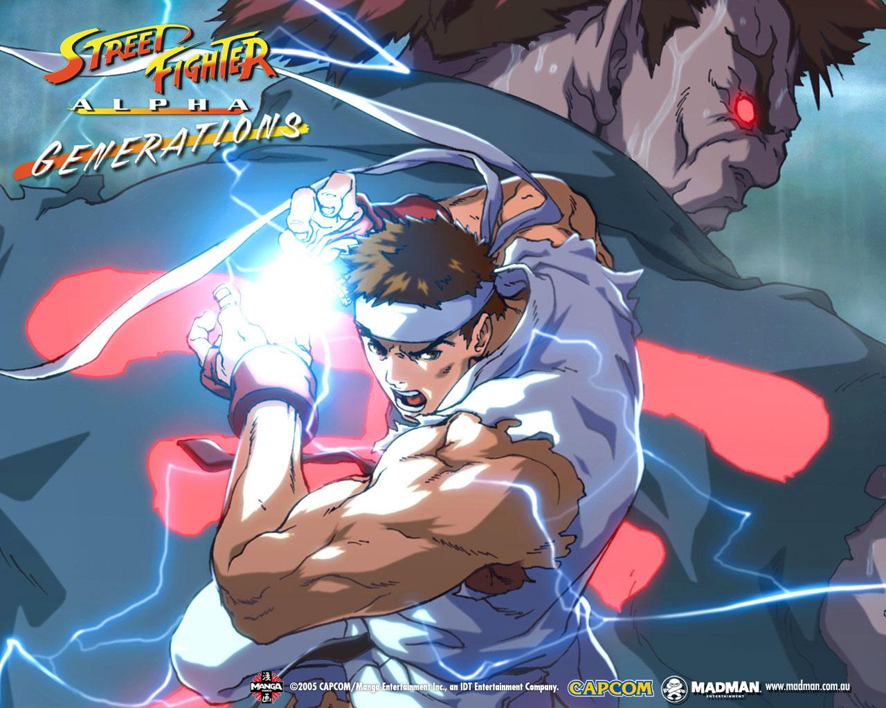 Street Fighter Alpha: Generations (ou Street Fighter Zero: Generations