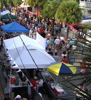 Duval Street during Fantasy Fest 2007 - Friday Street Fair