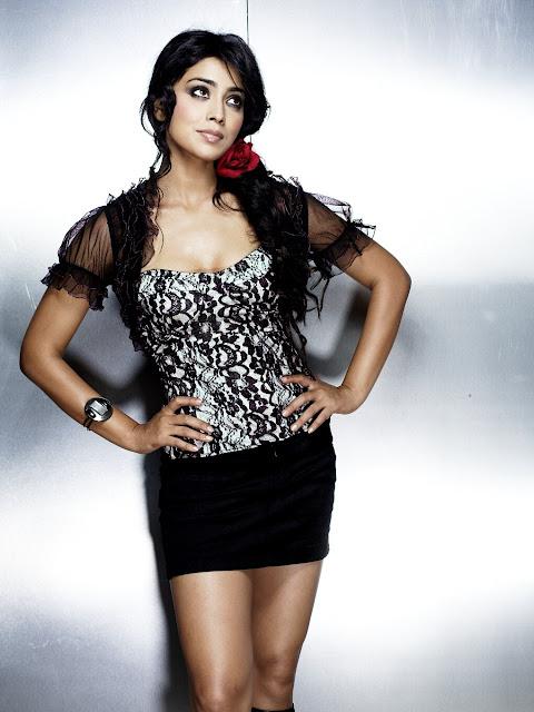 Actress Shriya Saran Latest Photoshoot Navel Queens