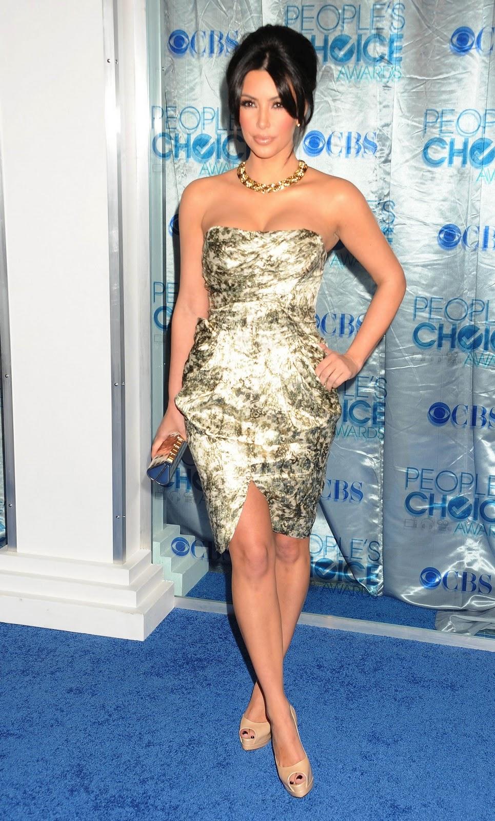 Kim Kardashian People S Choice Awards 2011 Sweet Dream