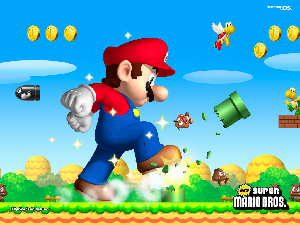 Super Mario HD & Widescreen Wallpaper 0.21916903564834