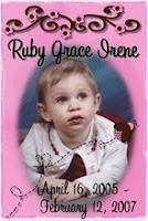We Miss You Sweet Ruby Roo!!!!