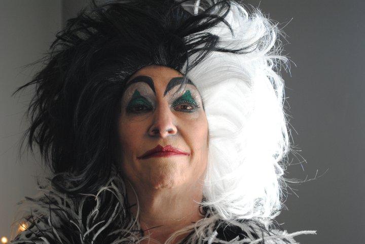 cruella deville makeup. CRUELLA De#39;Ville- My Mom