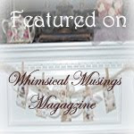 Featured on Whimsical Musings Mag