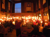 Moravian Candle Light Service