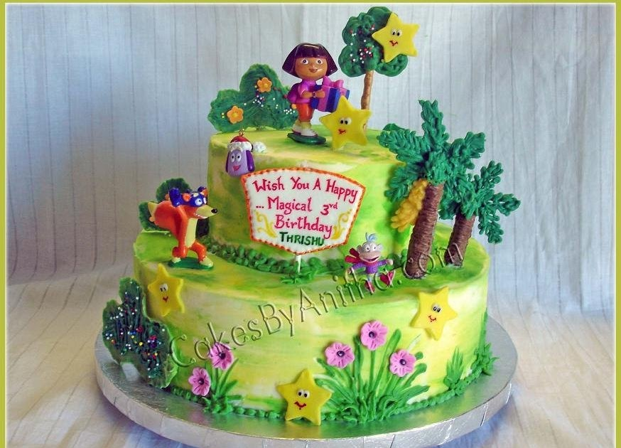 Cakes By Anitha Fun With Dora