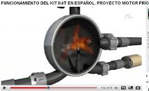 FUNCIONAMIENTO DEL KIT K4T EN ESPAÑOL. PROYECTO MOTOR FRÍO DE COMBUSTIÓN EXTERNA