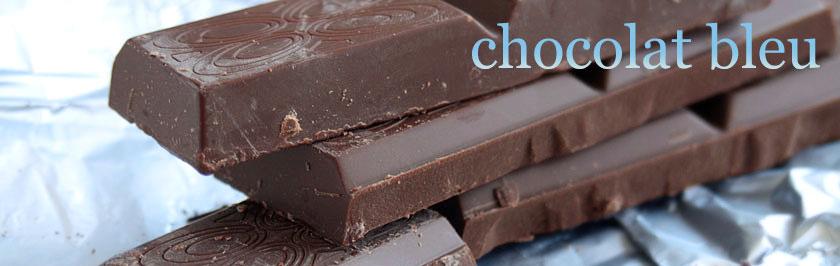 chocolat bleu