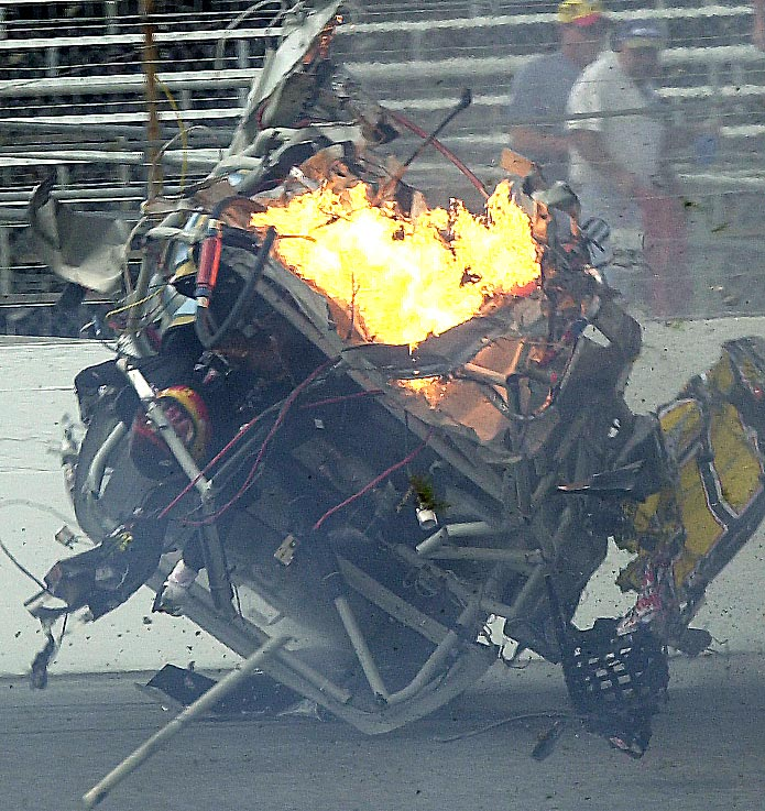 1995 NASCAR Russell Phillips Fatal crash  Video Dailymotion