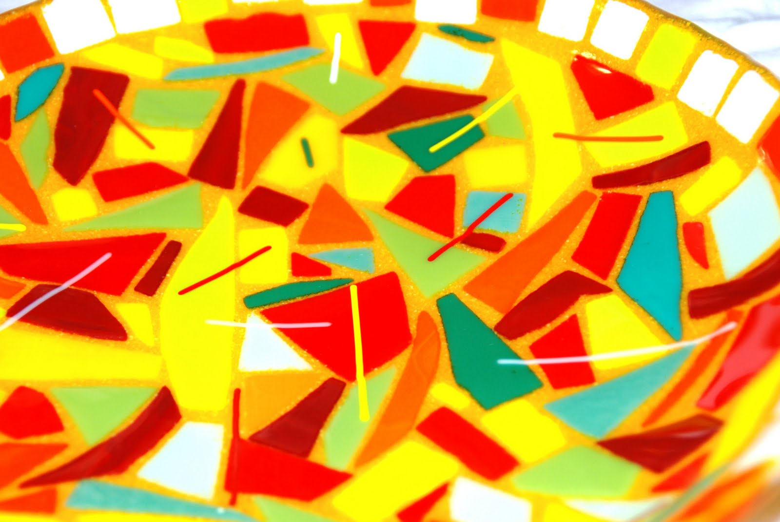Omega Glass: Fused Glass Art that\'s Ridiculously Cool: Mosaics in ...