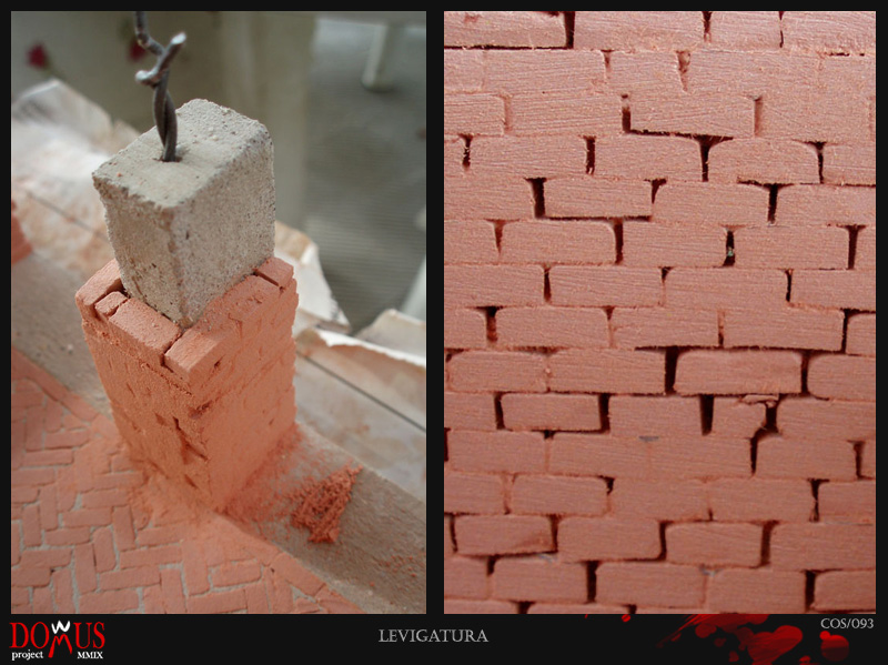 Domus project construction 10 brick walls 2 for Domus building cleaning