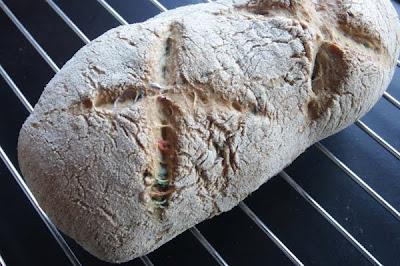 pan casero de punto de cruz