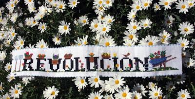 revolución punto de cruz