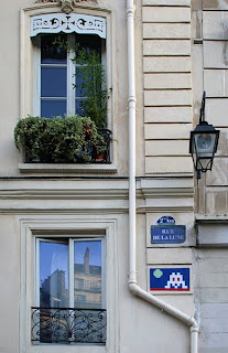 rue de la lune space invader