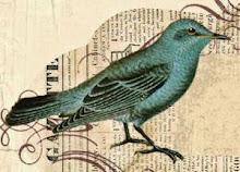 Kramik Malowany Ptak