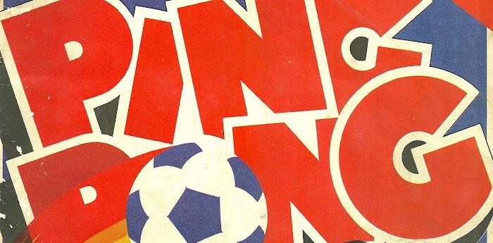 Figurinhas Ping Pong Copa do Mundo 1982
