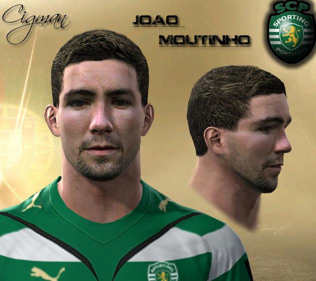Pes 2010 - Joao Moutinho Face Preview
