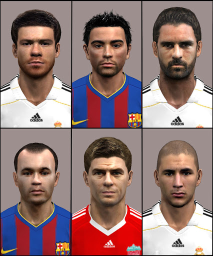 Pes Master Posts: Facepack By Anat-Z