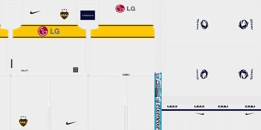 Kits de Boca Juniors para PES 2010