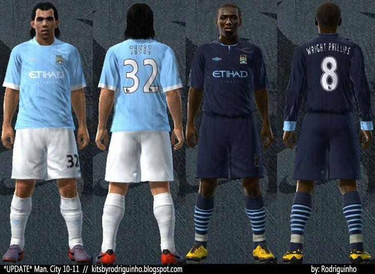 Manchester City 10/11 Player Kits by Rodriguinho
