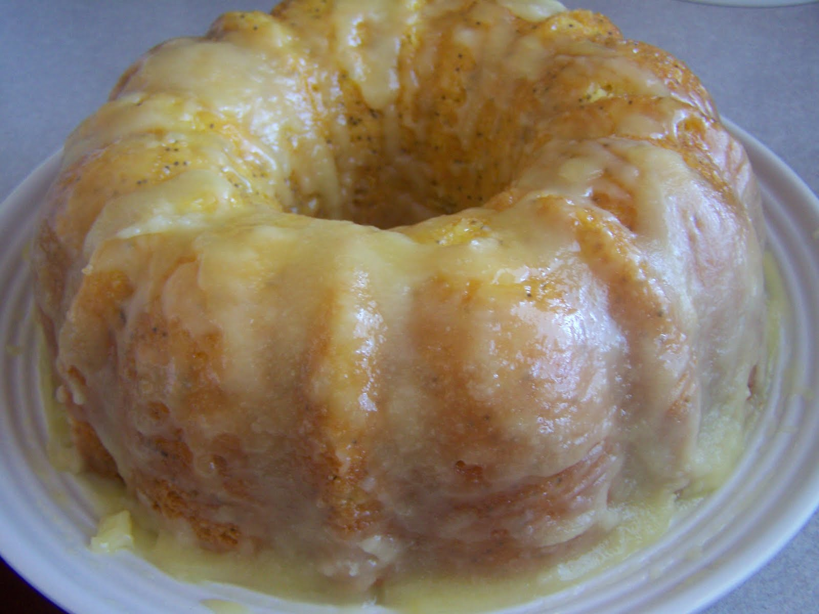 Carrot Cake With Pineapple Glaze