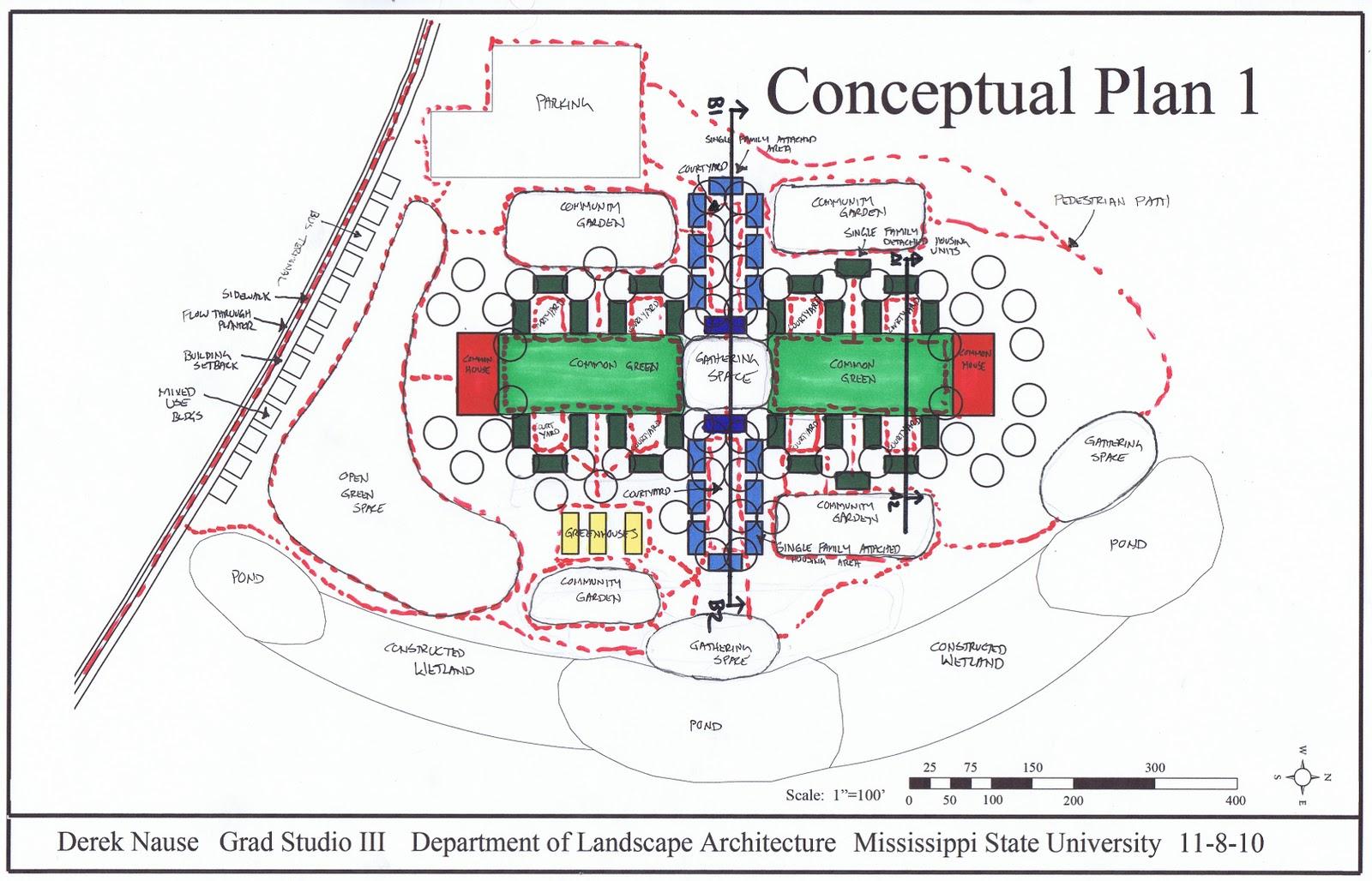 The artist 39 s blog conceptual plan 1 for Conceptual house plans