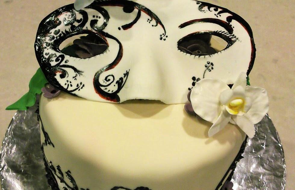 Sweet Dreams: Masquerade Birthday Cake