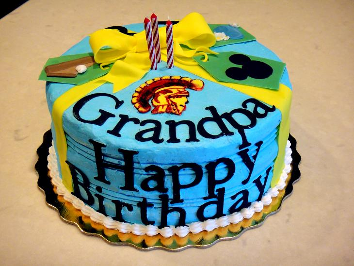 Birthday Cake Images For Grandfather : Sweet Dreams: Happy Birthday Grandpa!