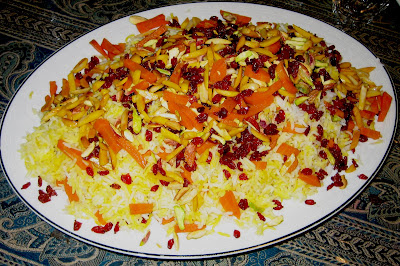 Nooschi zereshk polow barberry rice the best thing about coming home from a trip is eating home cooked food especially when you dont have to cook it when i arrived in ottawa forumfinder Images