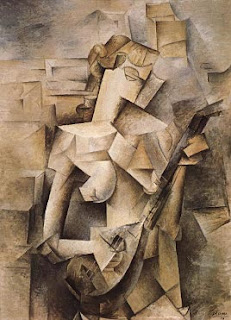 Picasso's Woman with Mandolin (1910)