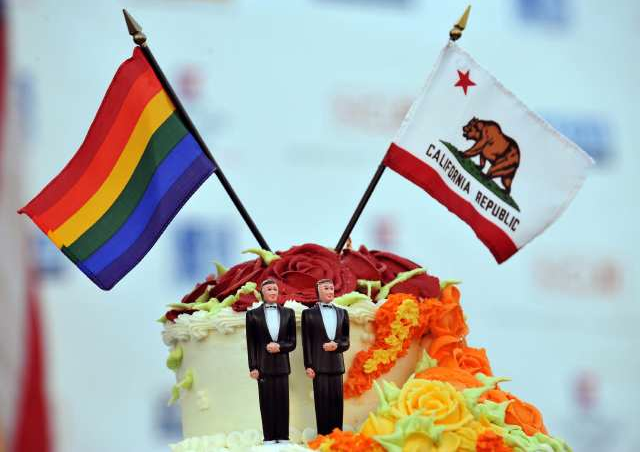 A federal judge in San Francisco decided today that gays and lesbians have a ...
