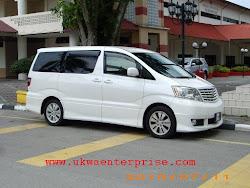 MPV Toyota Alphad untuk di Sewa