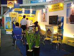 Booth Stand Pajak Balikpapan Fair 2009