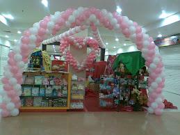 Dekorasi Balon Valentine Balikpapan