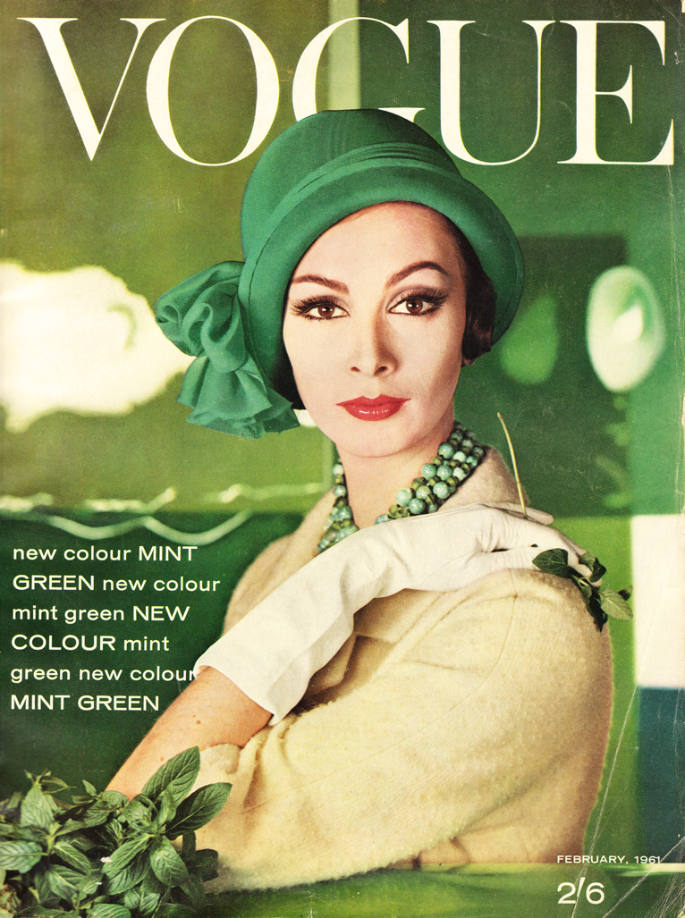 The Uptown Bride Vintage Vogue Covers