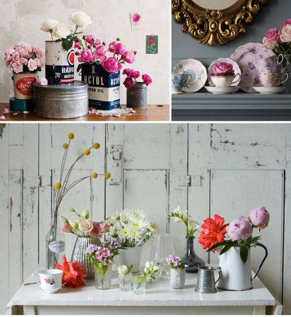 Crazy about weddings flower trend flowers in a pot