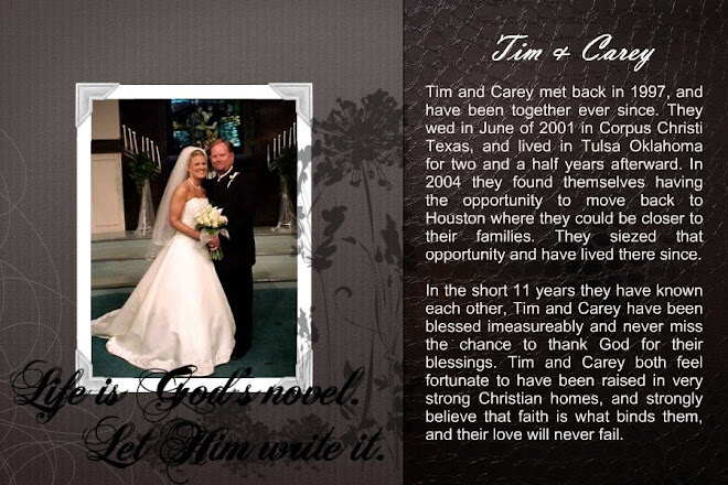 Tim and Carey