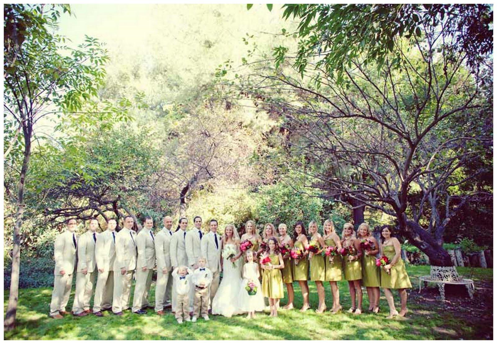 Real Enchanted Garden Wedding Kelly Steve