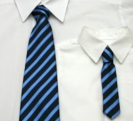NEW SIZES - Silk Father and Son Neck Tie Set - Adjustable Around the Neck Style - Clasp Back Closur
