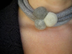 Beachcomber Wool Felt Necklace/Bracelet
