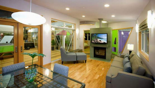 Eco Modern on Green Homes Design